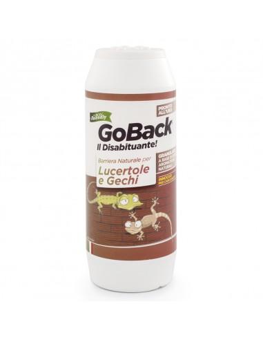 GOBACK DISABITUANTE LUCERTOLE E GECHI