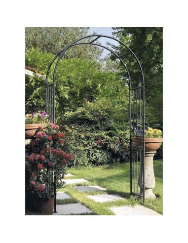 Arco antracite in ferro da giardino...