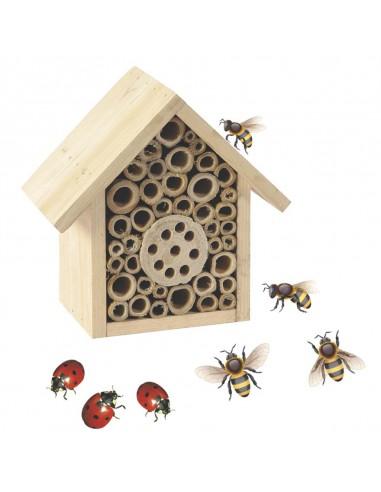 Casetta per insetti cm 9x16xh16,5