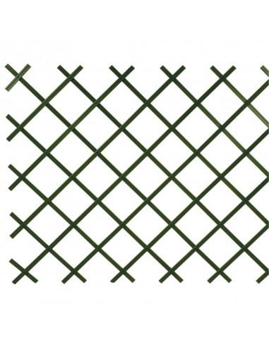 Traliccio verde estensibile in PVC...