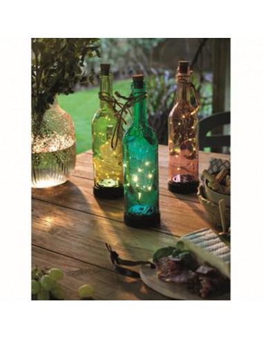 LED SOLARE 'Bottiglia' - GIALLO -...