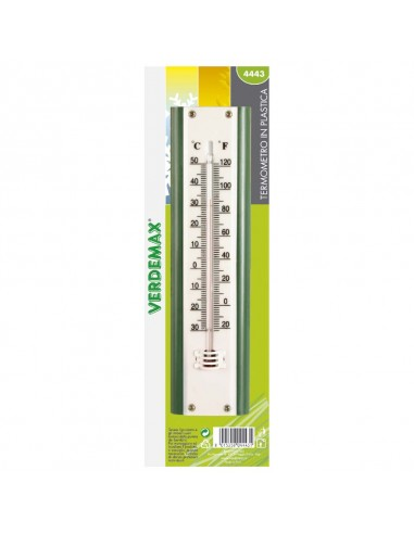 Termometro plastica mm 220x58