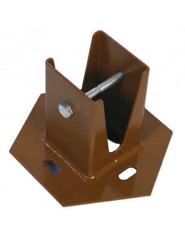 Basetta di supporto palo marrone