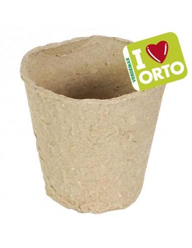 Vasetti tondi biodegradabili  cm...