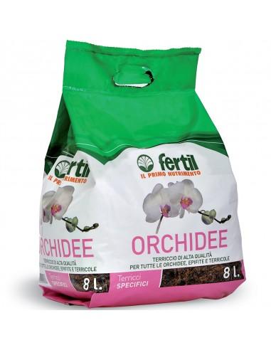 TERRICCIO ORCHIDEE LT8
